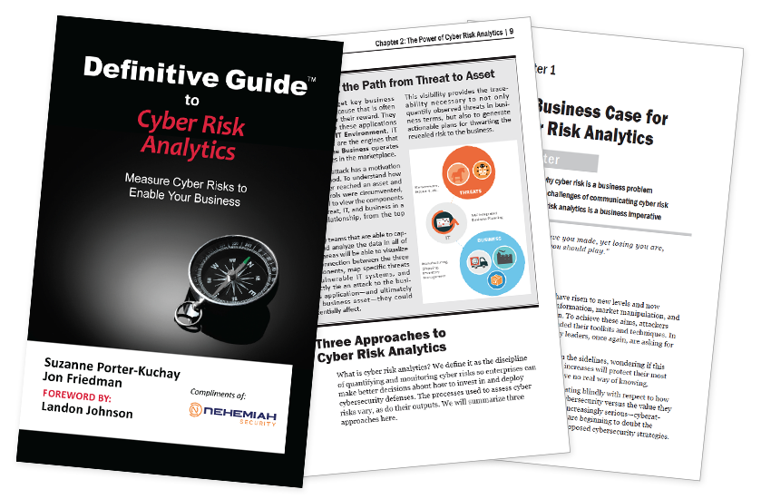 Presentation image for Definitive Guide to Cyber Risk Analytics