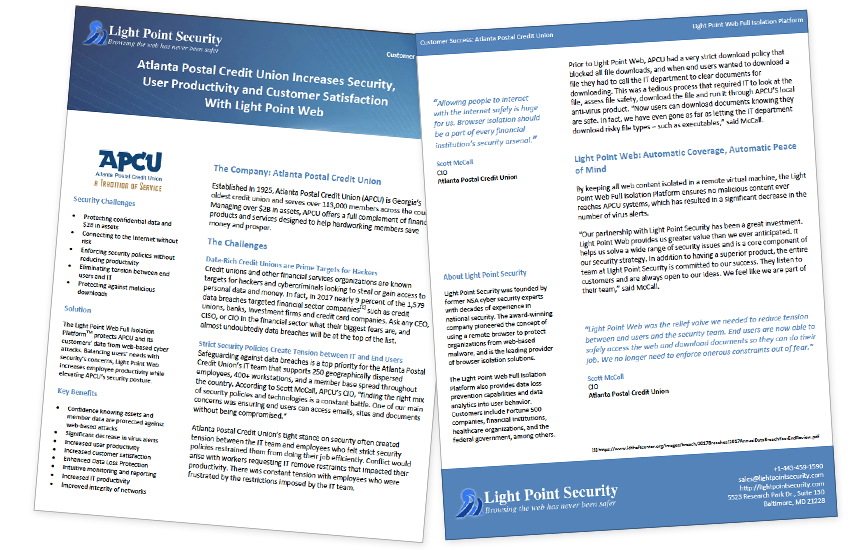 Presentation image for Atlanta Postal Credit Union Customer Case Study