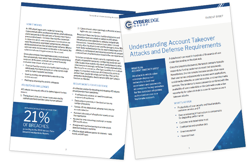 Presentation image for Understanding Account Takeover Attackes and Defense Requirements