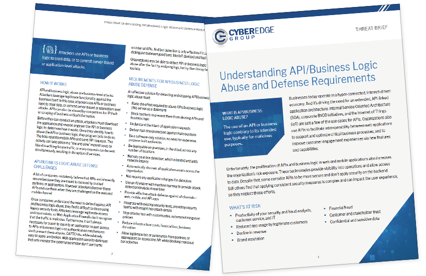 Presentation image for Understanding API/Business Logic Abuse and Defense Requirements
