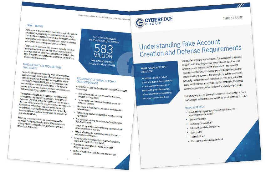 Presentation image for Understanding Fake Account Creation and Defense Requirements