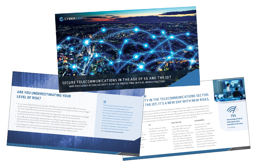 Presentation image for Secure Telecommunications in the Age of 5G and the IOT