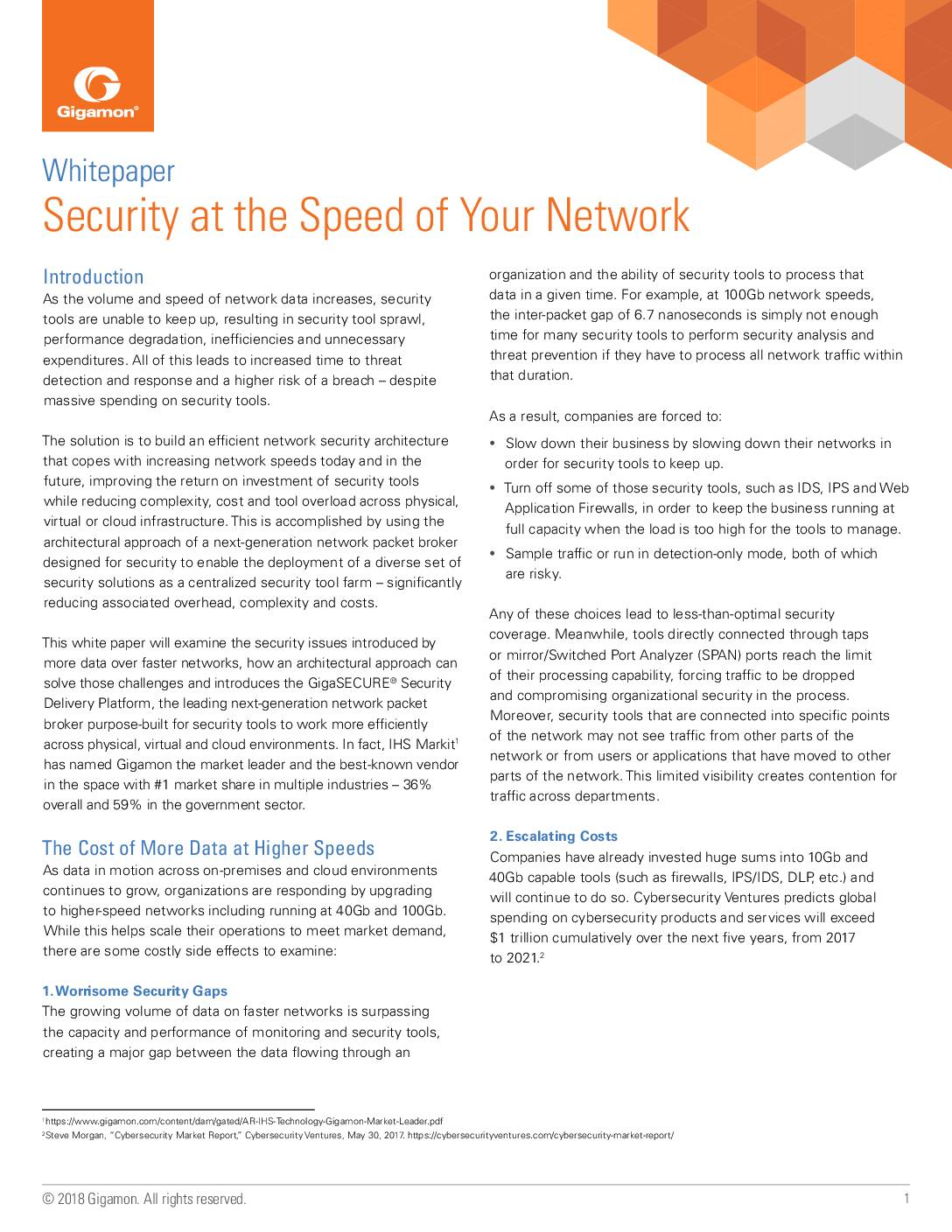 Featured image for Security at the Speed of Your Network