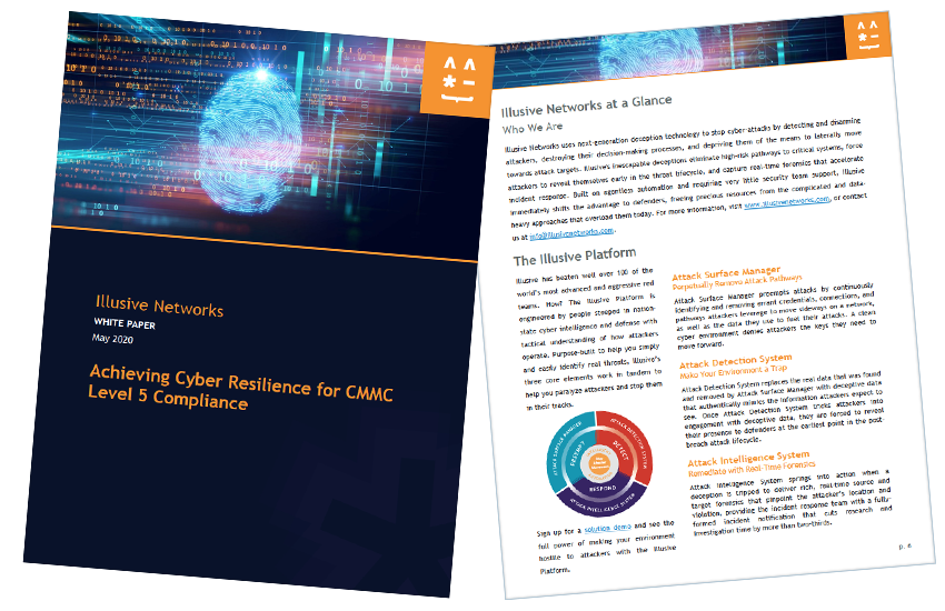 Presentation image for Achieving Cyber Resilience for CMMC Level 5 Compliance