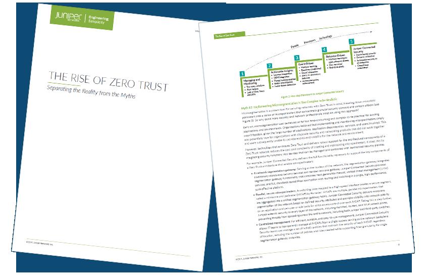 Presentation image for The Rise of Zero Trust