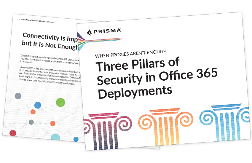 Presentation image for Three Pillars of Security in Office 365 Deployments