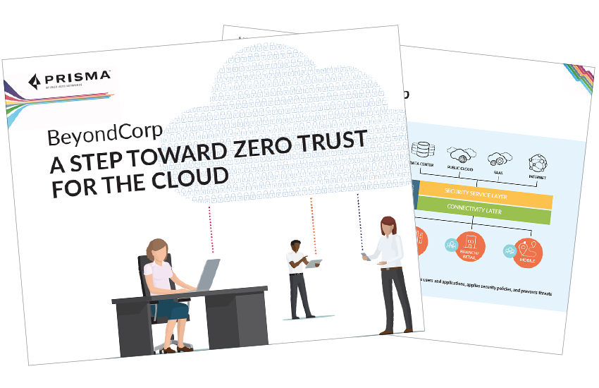 Presentation image for BeyondCorp: A Step Toward Zero Trust for the Cloud