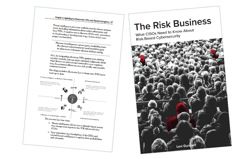 Presentation image for The Risk Business