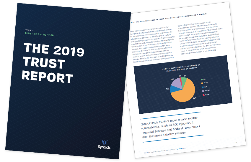 Presentation image for The 2019 Trust Report