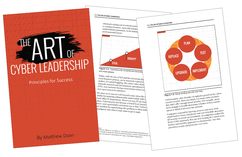 Presentation image for The Art of Cyber Leadership