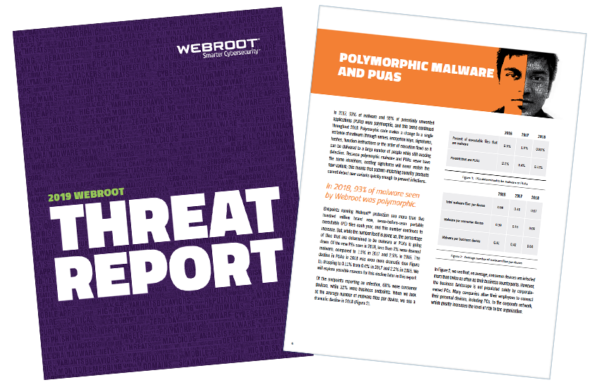 Presentation image for 2019 Webroot Threat Report