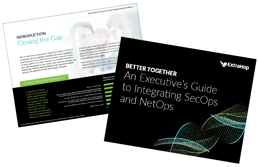 Presentation image for An Executive's Guide to Integrating SecOps and NetOps
