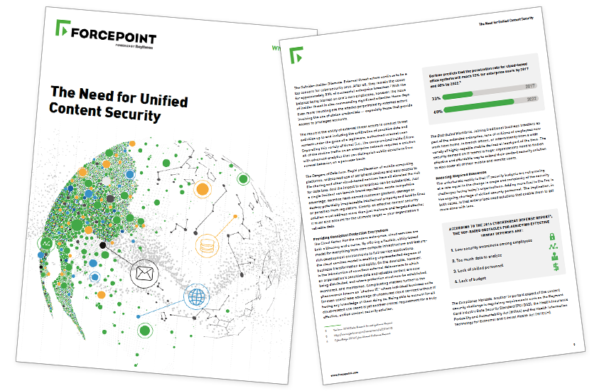 Presentation image for The Need For Unified Content Security