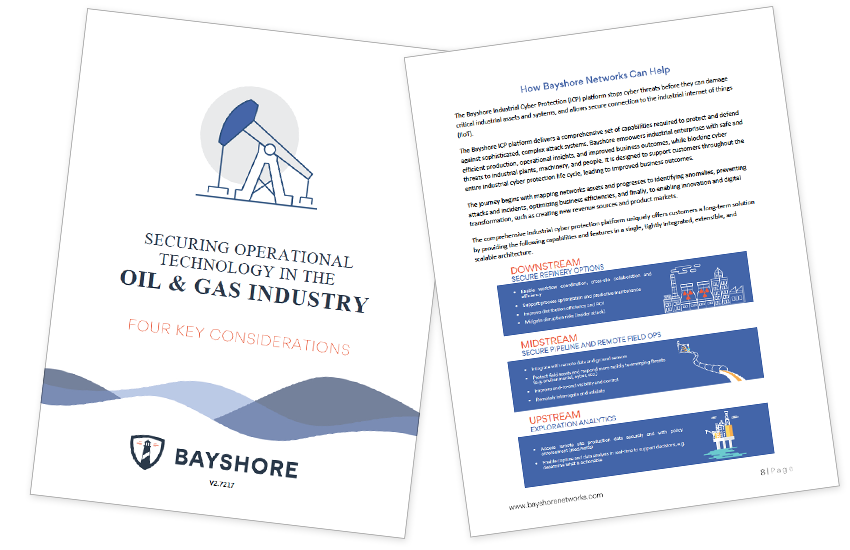 Presentation image for Securing Operational Technology in The Oil & Gas Industry