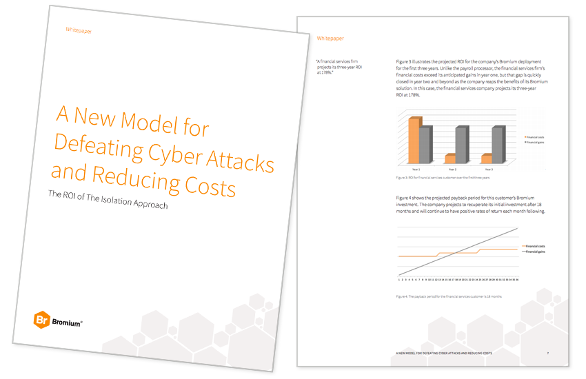 Presentation image for A New Model for Defeating Cyber Attacks and Reducing Costs