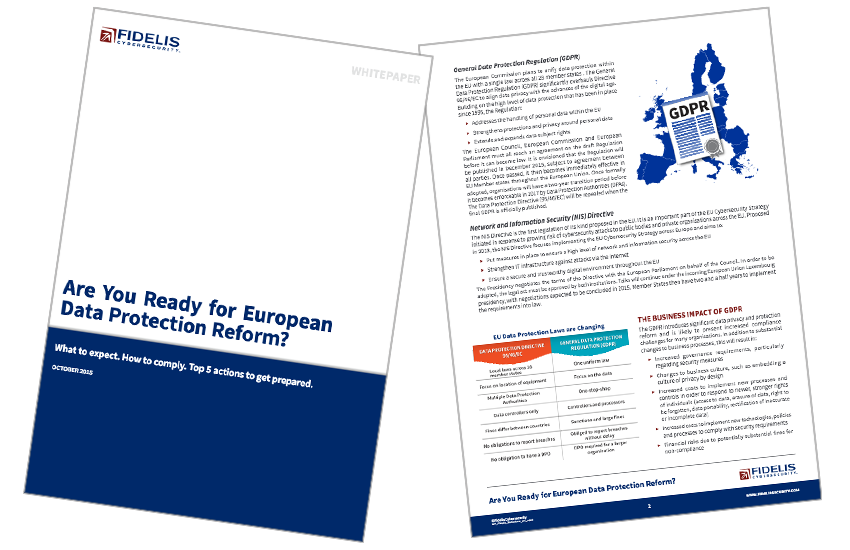 Presentation image for Are Your Ready For European Data Protection Reform?