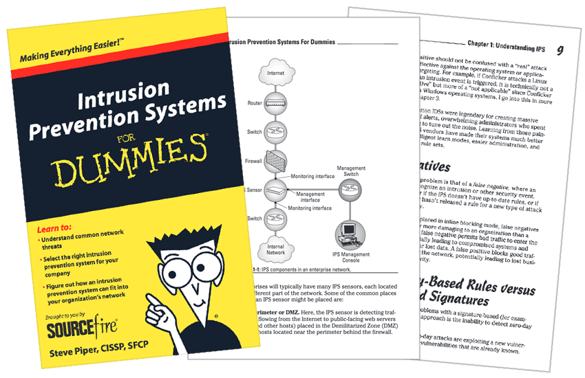 Presentation image for Intrusion Prevention Systems for Dummies