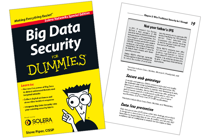 Presentation image for Big Data Security for Dummies