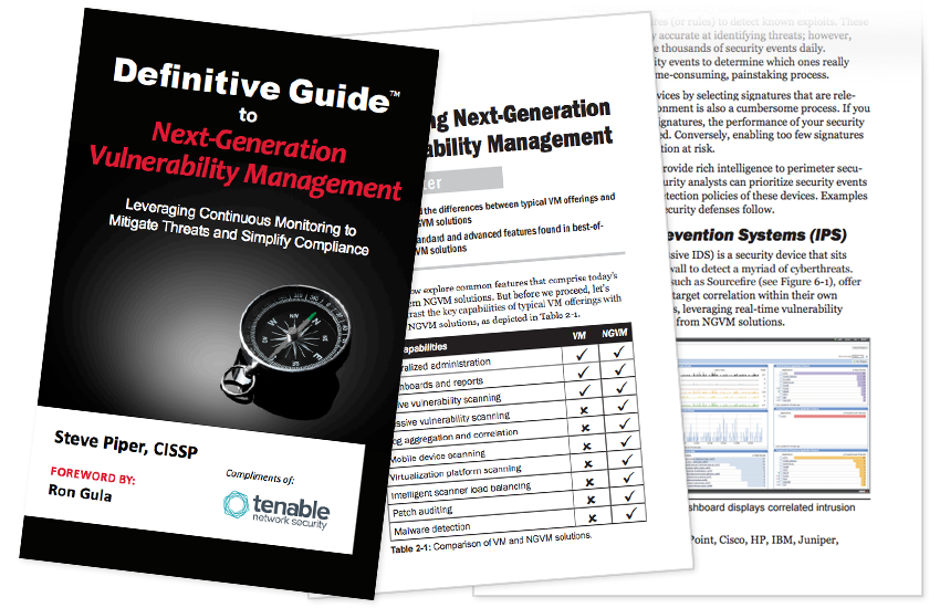 Presentation image for Definitive Guide to Next-Generation Vulnerability Management