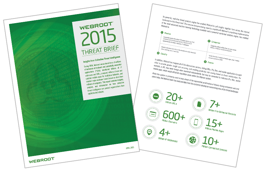 Presentation image for Webroot 2015 Threat Intelligence Brief