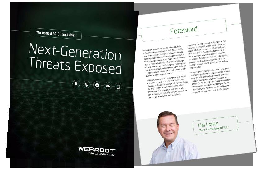 Presentation image for Webroot 2016 Threat Intelligence Brief