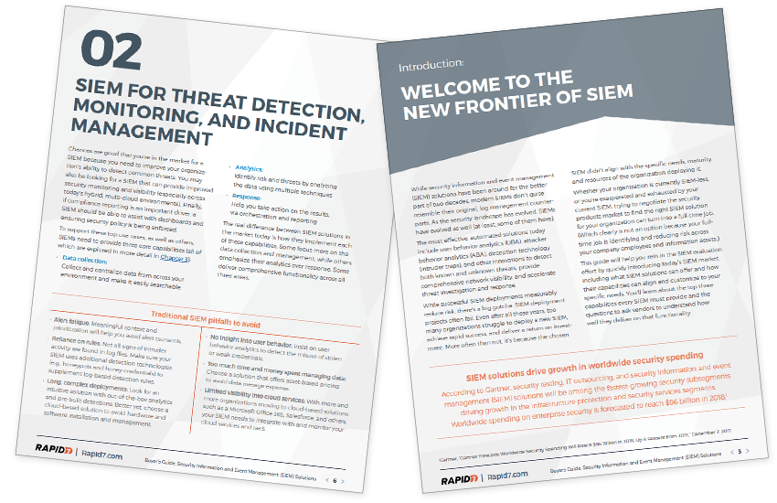 Presentation image for Security Information and Event Management (SIEM) Solutions