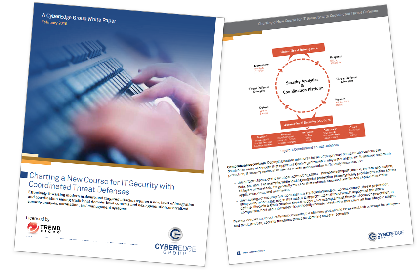 Presentation image for Charting A New Course for IT Security with Coordinated Threat Defenses