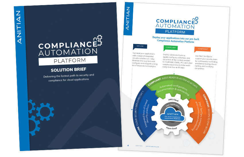Presentation image for Compliance Automation Platform Solution Brief