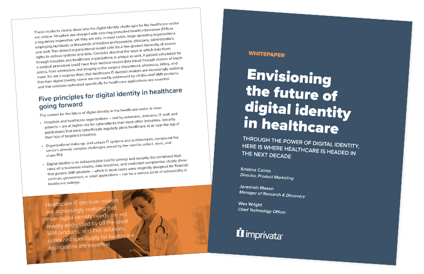 Presentation image for Envisioning the Future of Digital Identity in Healthcare