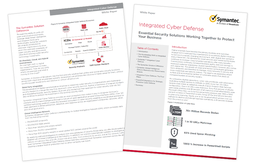 Presentation image for Integrated Cyber Defense