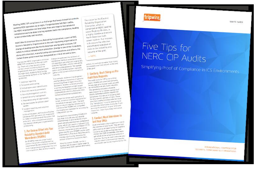 Presentation image for Five Tips for NERC CIP Audits